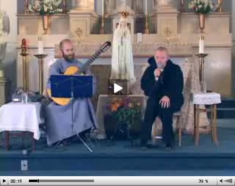 Video – Immac Music #2 – Fr. Maximilian and Michael Grogan – Mother Mary Hide Me