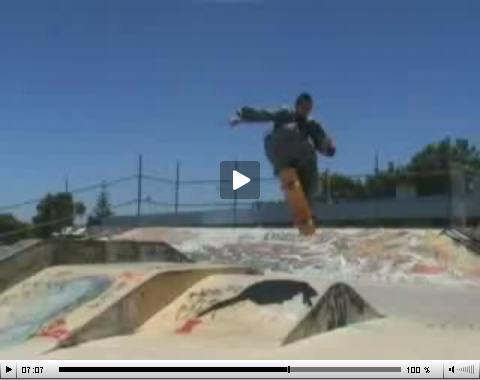 Video – Fra Gabriel – Skateboarding Down Under to Schubert's Ave Maria!