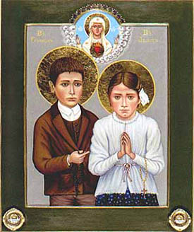 Blesseds Francisco and Jacinta Marto
