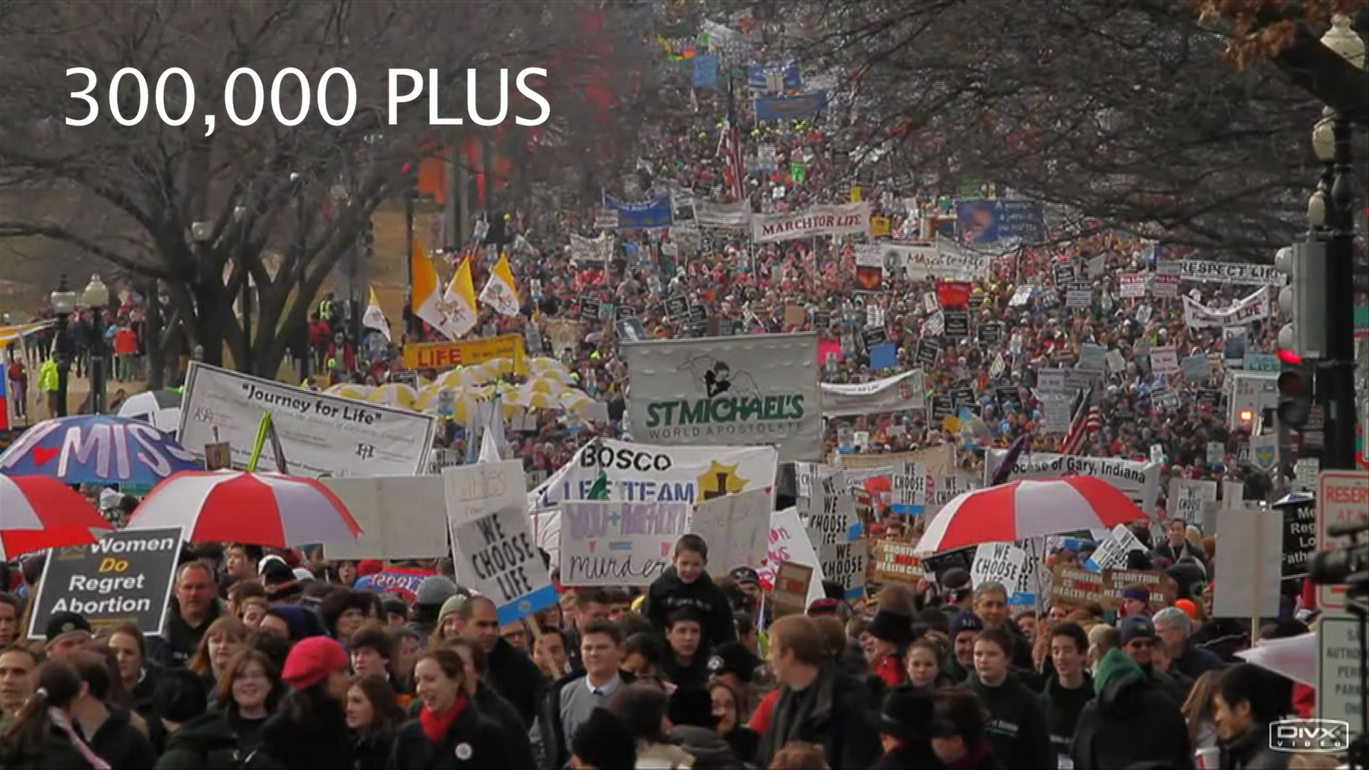 Video – Miscellanea #50: 300,000 PLUS MARCH FOR LIFE 2010