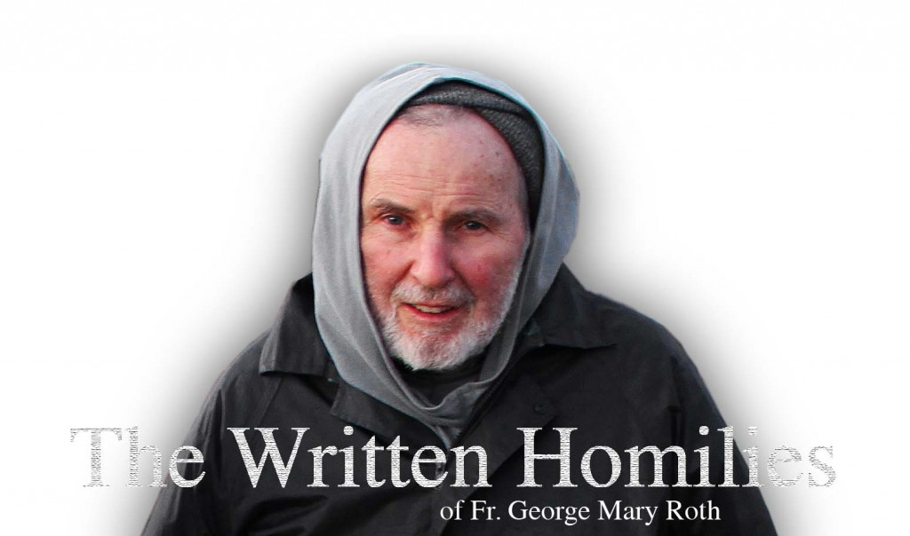 Written Homilies – Fr. George: Walk in the Spirit