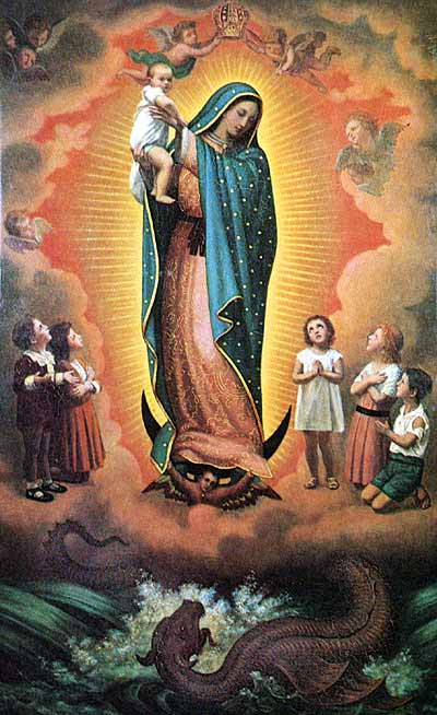 Prayer to Our Lady of Guadalupe: Patroness  of the Unborn