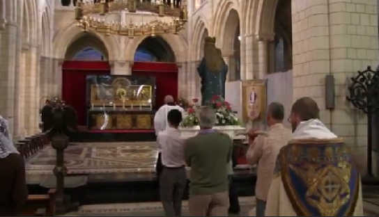 Video – Procession of Our Lady, Buckfast Abbey – ADWM #84
