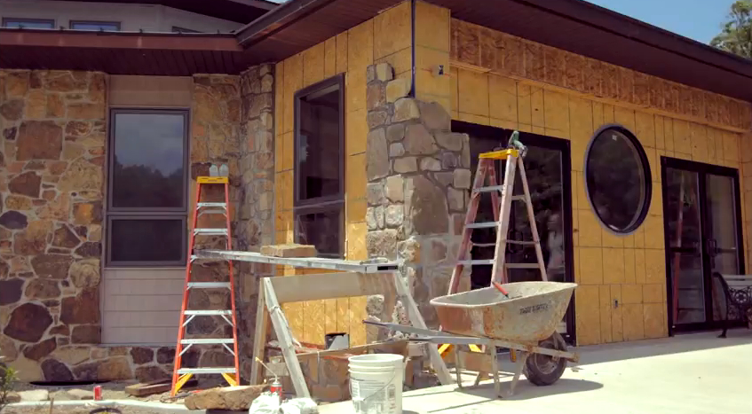Video/Photos: New Foyer on Sacred Heart Chapel