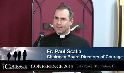Video – Fr Scalia – Courage 2013 #6 – CONF 223