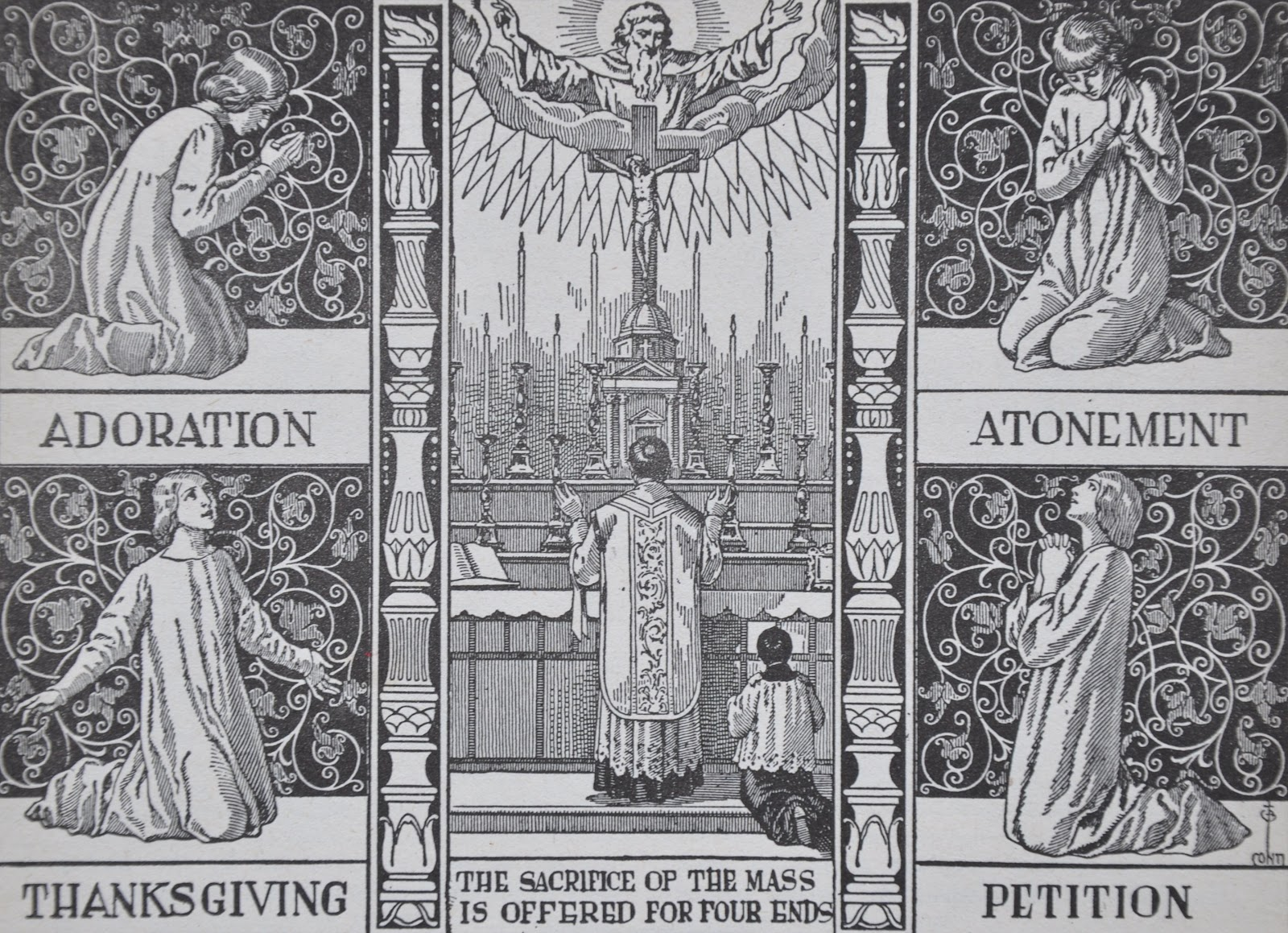 A Priest Meditates about the Holy Mass