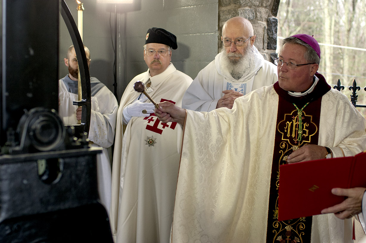 Bishop Cote Mass Bell Blessing 10