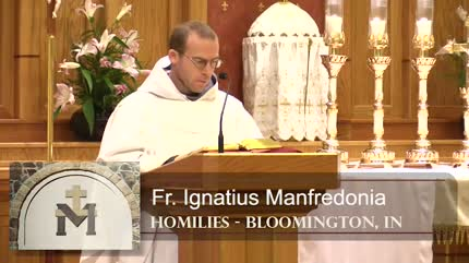 Nov 16 – Homily – Fr Ignatius: Last Things