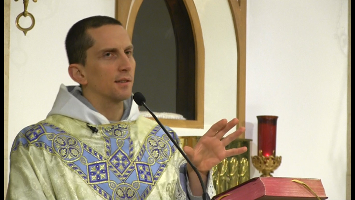 Nov 21 – Homily – Fr Matthias: Consecrating our lives to God through Mary