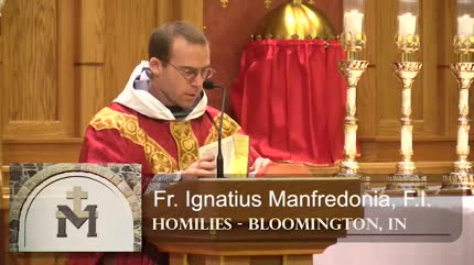 Nov 30 – Homily – Fr Ignatius: St. Andrew, Seeking the Lord