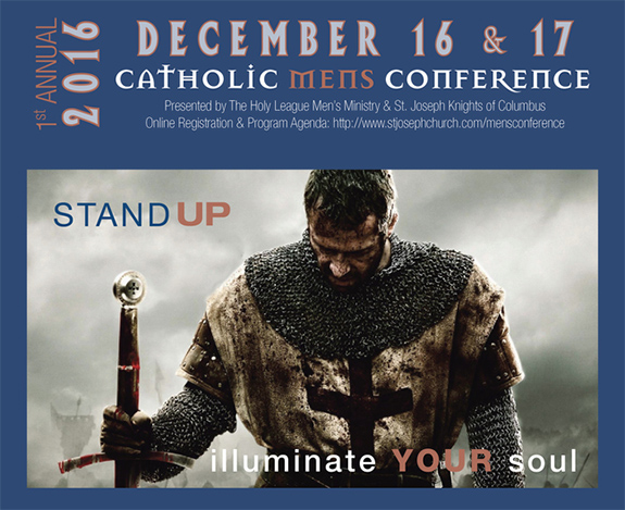 Holy League Men's Conference to feature noted speakers, challenging messages | Catholic World Report – Global Church news and views