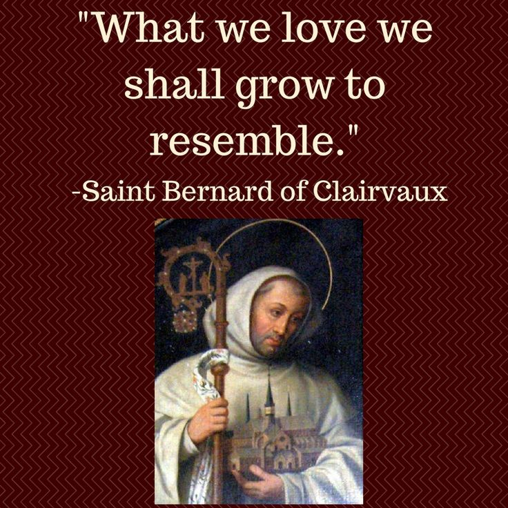 St. Bernard wrote about Love