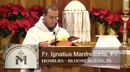 Jan 05 – Homily – Fr Ignatius: Prayer: Love of God and Neighbor