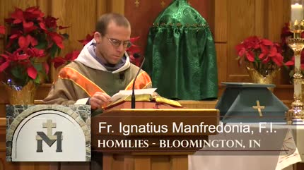 Jan 27 – Homily – Fr Ignatius: Prayers for the President