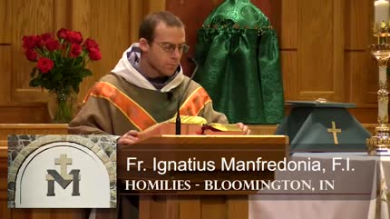 Feb 16 – Homily – Fr Ignatius: Pray and Fast to end Abortion
