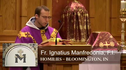 Mar 01 – Homily – Fr Ignatius: Ashes to Ashes
