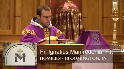 Mar 03 – Homily – Fr Ignatius: Right and Wrong way to Fast