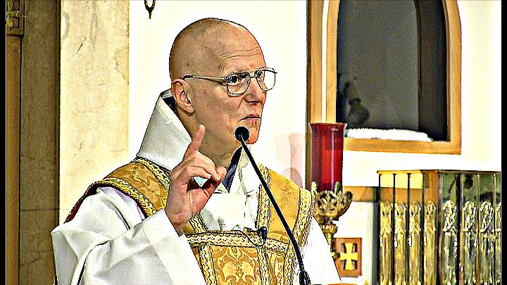 Apr 12 – Homily – Fr. Maximilian: Last Supper, First Mass