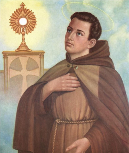 St. Paschal Baylon: Patron of Eucharistic Societies