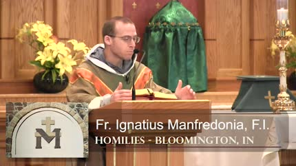 Jun 14 – Homily – Fr Ignatius: Old Law, New Spirit