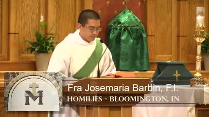 Jul 13 – Homily – Fra Josemaria: Need of God's Grace