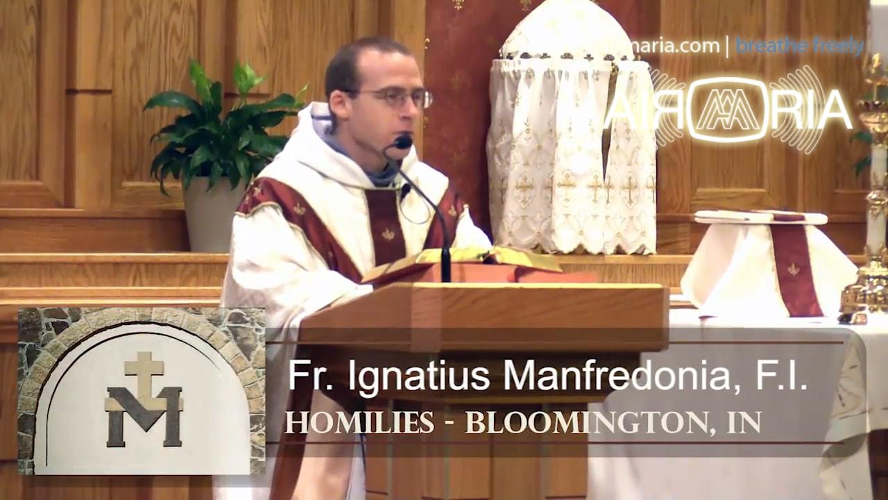 Jul 20 – Homily – Fr Ignatius: Sacred Merciful Heart
