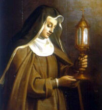 St. Clare and the Miracle of the Eucharist