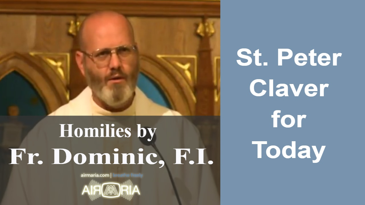 Sep 09 – Homily – Fr Dominic: St. Peter Claver for Today