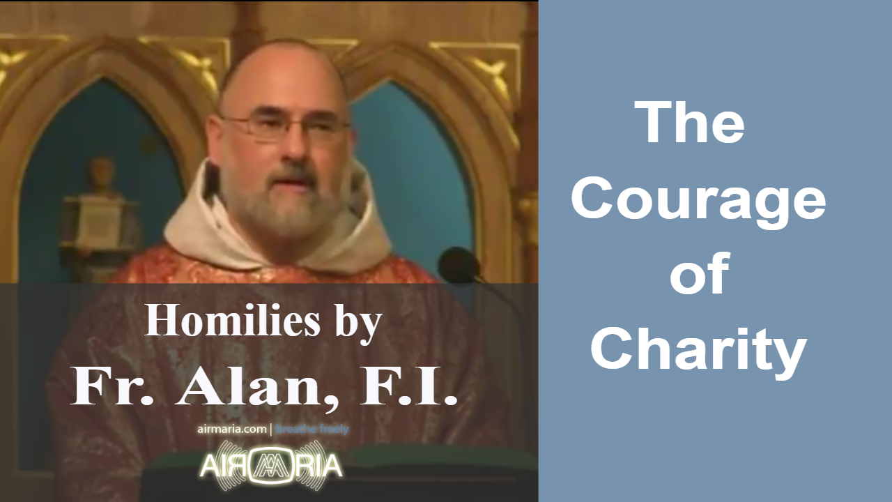 Oct 10 – Homily – Fr Alan: The Courage of Charity