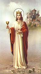 St. Barbara: Pray for Us!