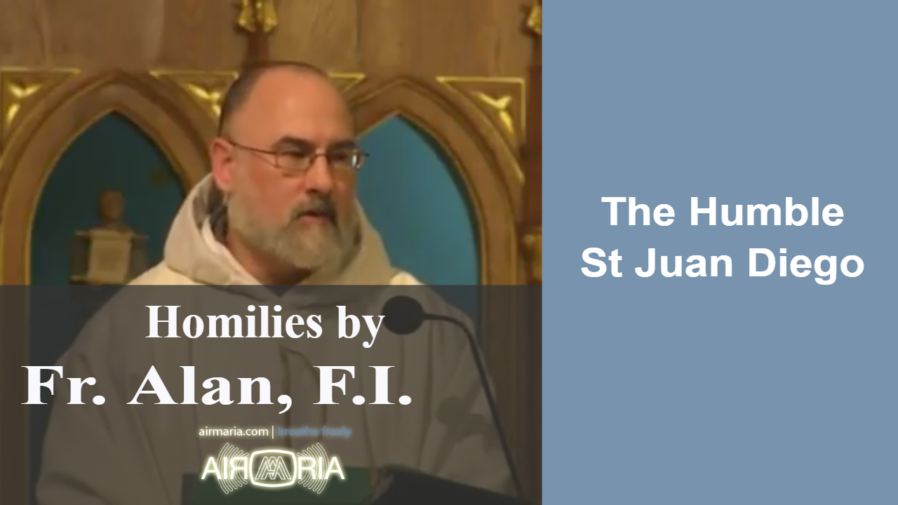 Dec 09 – Homily – Fr Alan: The Humble St Juan Diego
