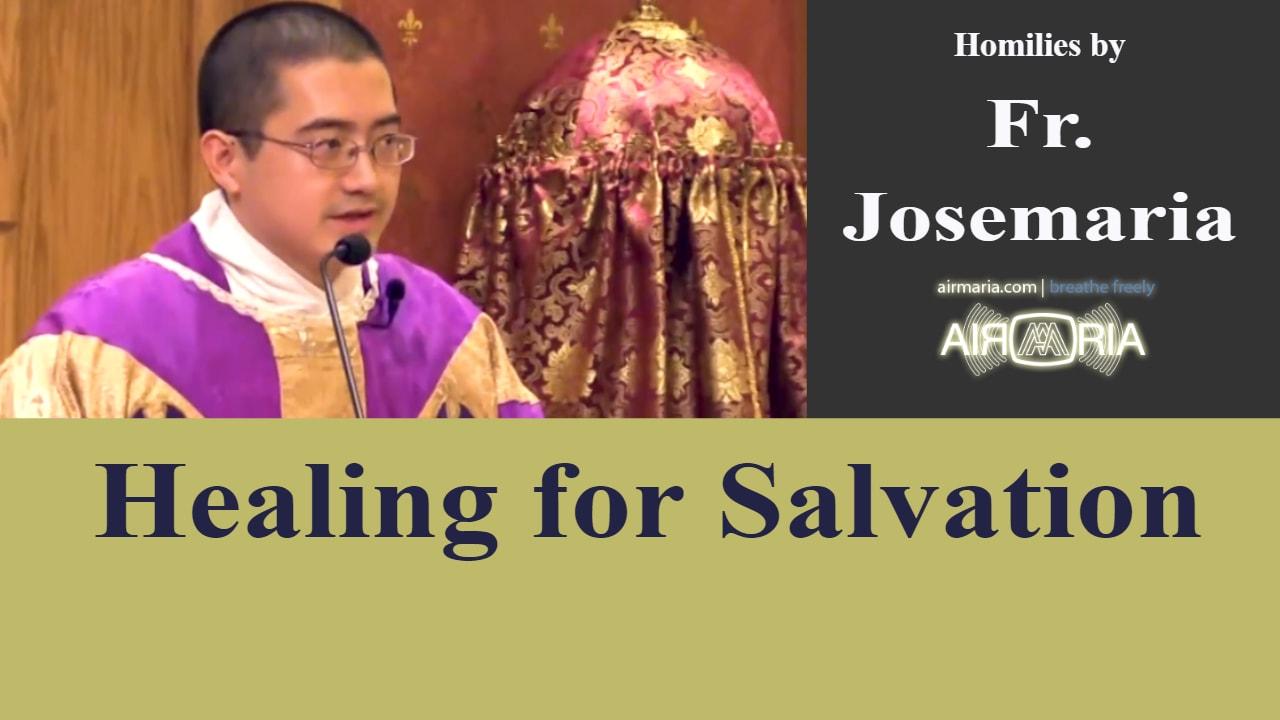 Dec 11 – Homily – Fr Josemaria: Healing for Salvation