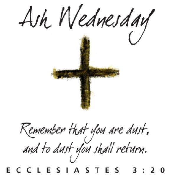 As We Enter Lent: Ash Wednesday