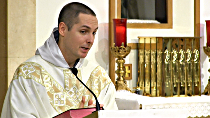 "Eucharist: the ""Something More"" to Life  – Apr 16 – Homily – Fr Terrance"