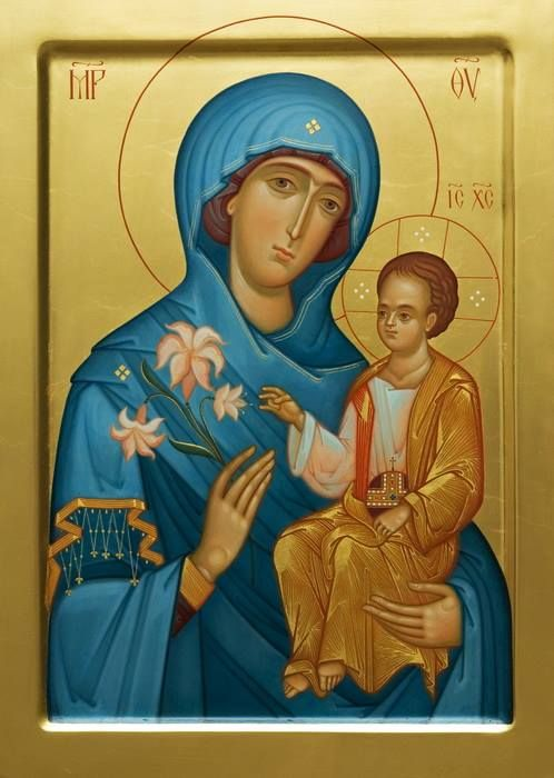 Image result for virgin mary iconography