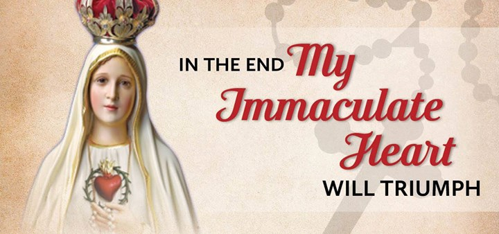 The Victorious Immaculate Heart of Mary