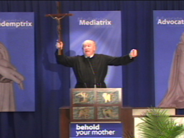 Video – Fr. Pablo Straub – Mary Medatrix of All Graces  – Greenwood 2007 – CONF 2