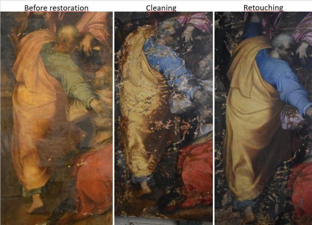 Malta Times: 'Majestic' Coronation of the Virgin Mary painting restored