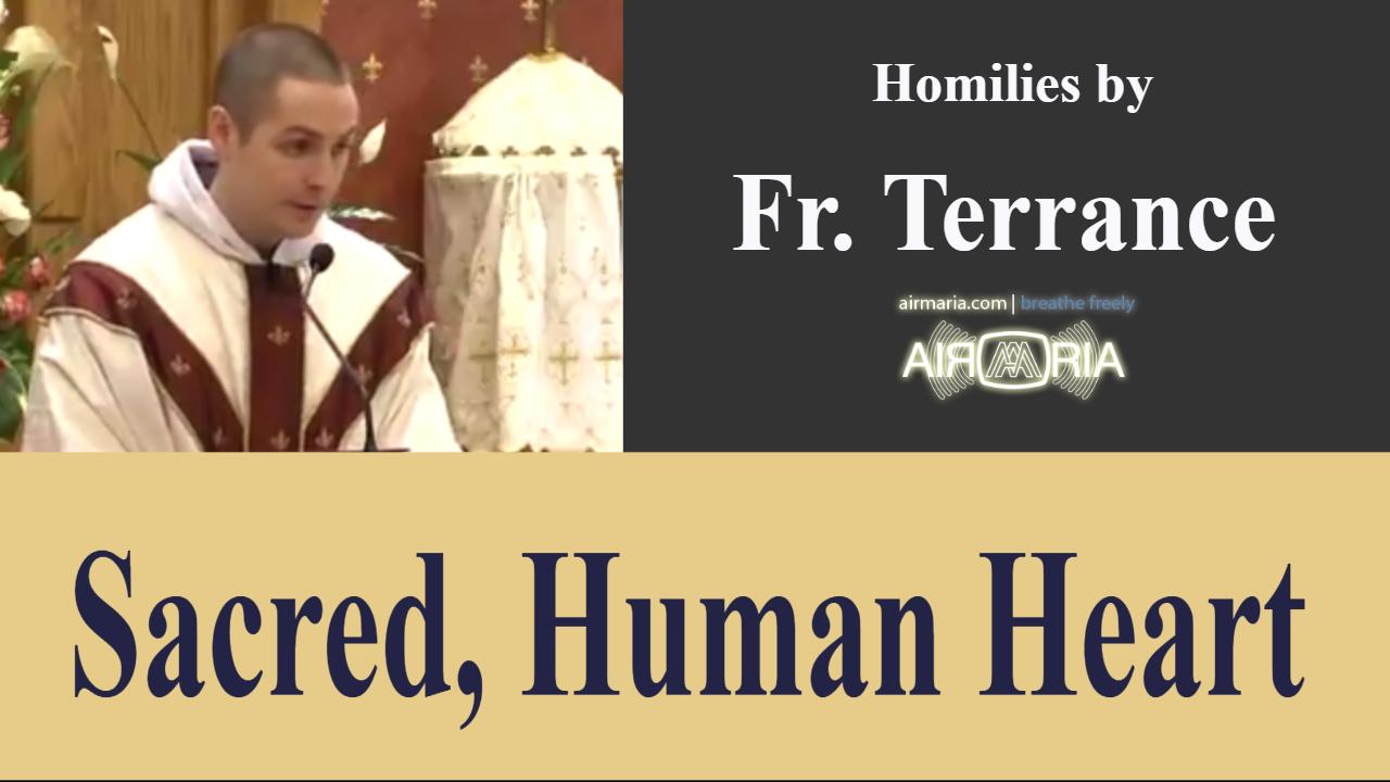 Sacred, Human Heart – Jun 08 – Homily – Fr Terrance