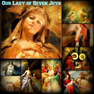May 7th: The Seven Joys of Our Lady