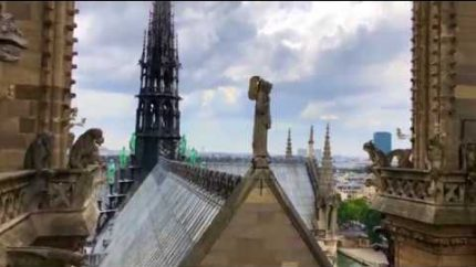 Notre Dame Pre Fire Including Inside Video – YouTube