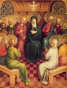 May 9th: Our Lady of the Cenacle